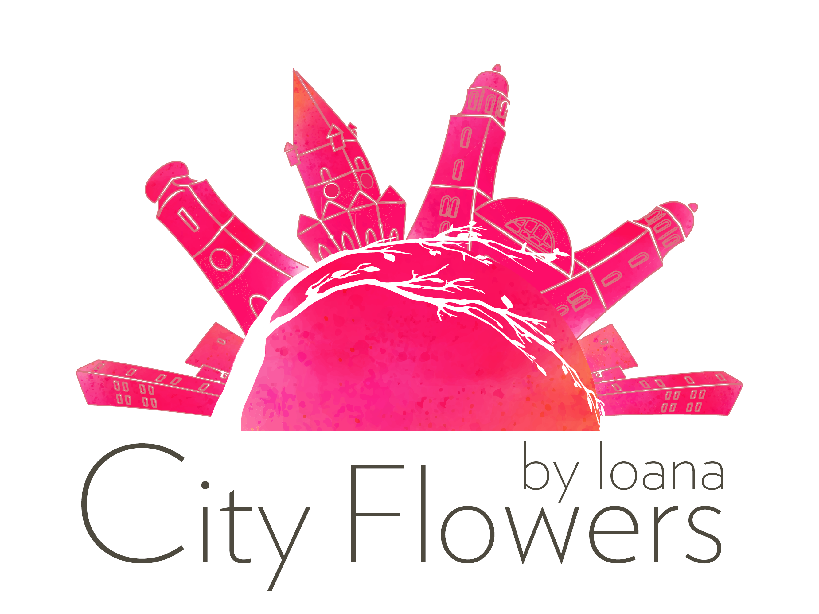 City Flowers by Ioana